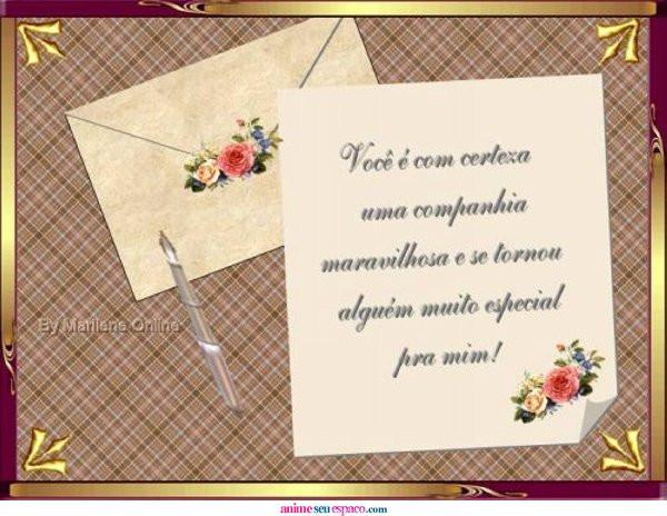 Mensagens e poemas